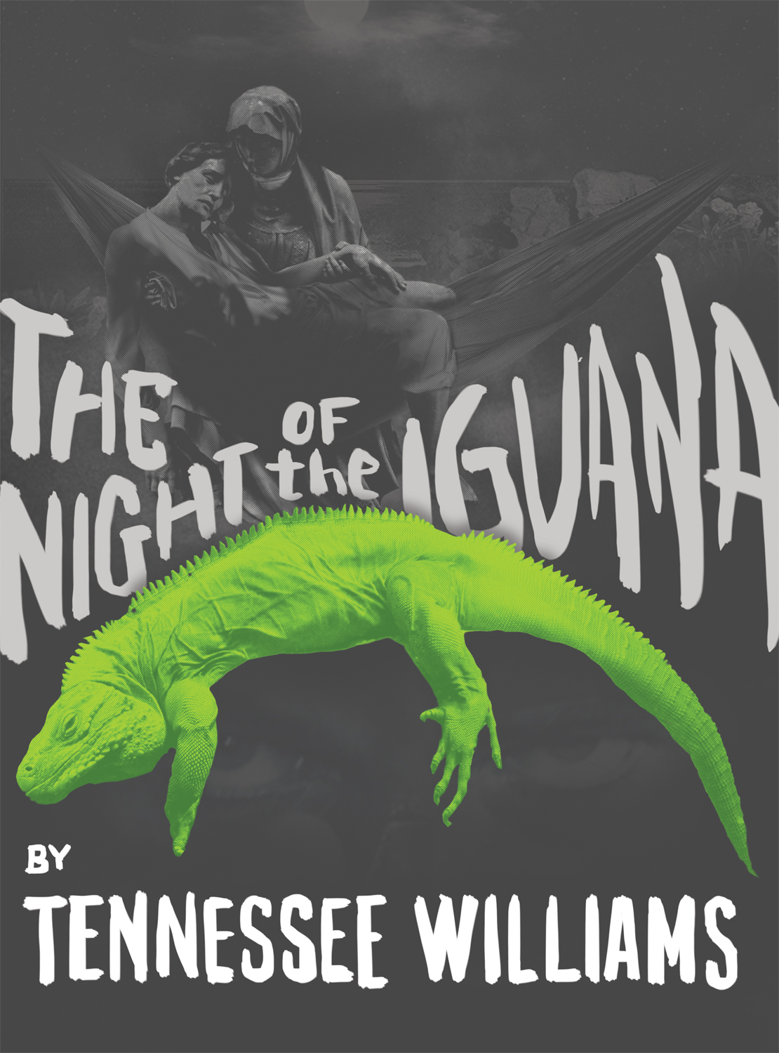 The Night of the Iguana 2014 Promotional Poster