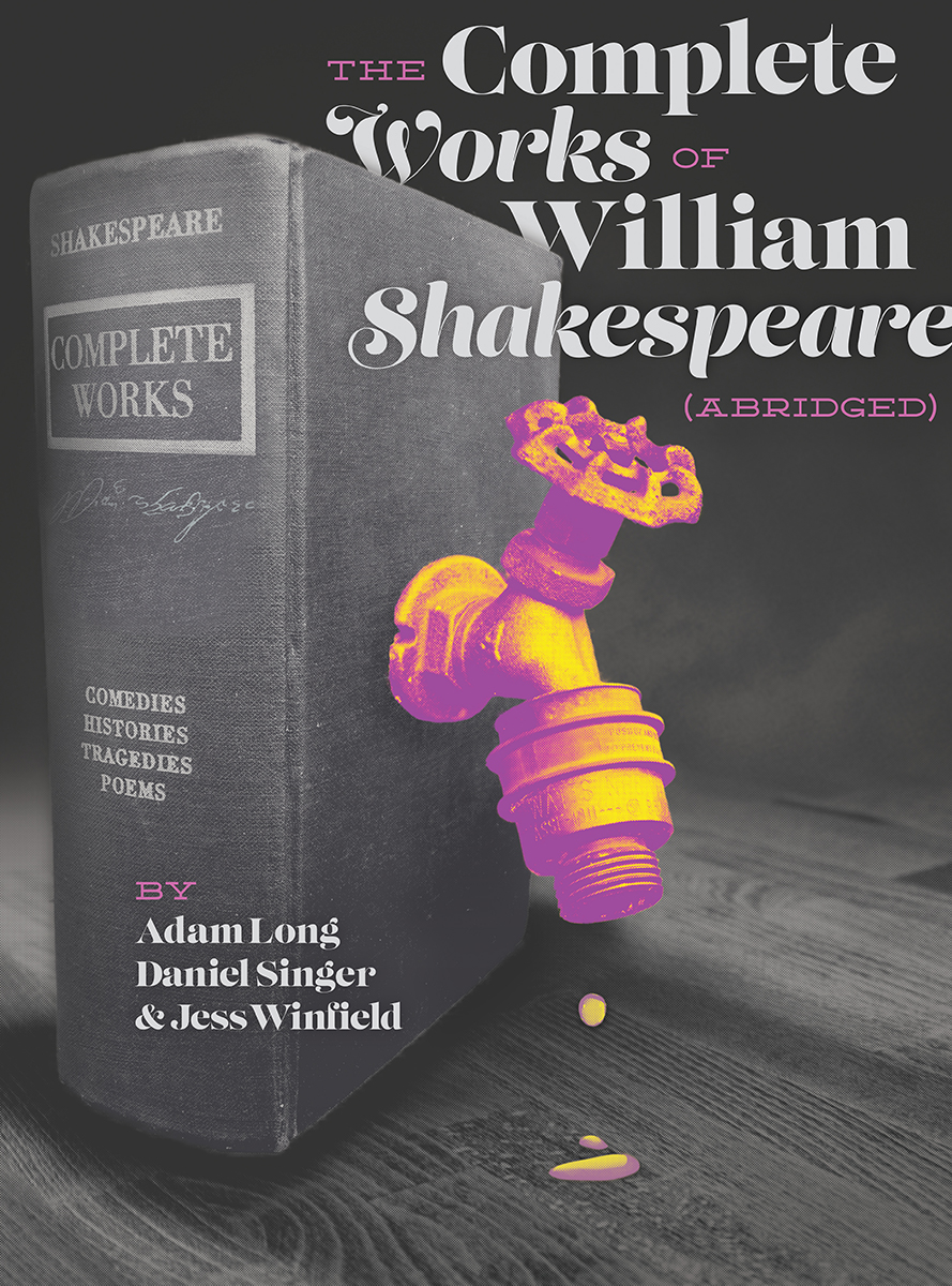 The Complete Works of William Shakespeare Abridged 2014 Promotional Poster