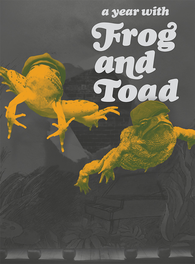 Frog and Toad 2014 Promotional Poster