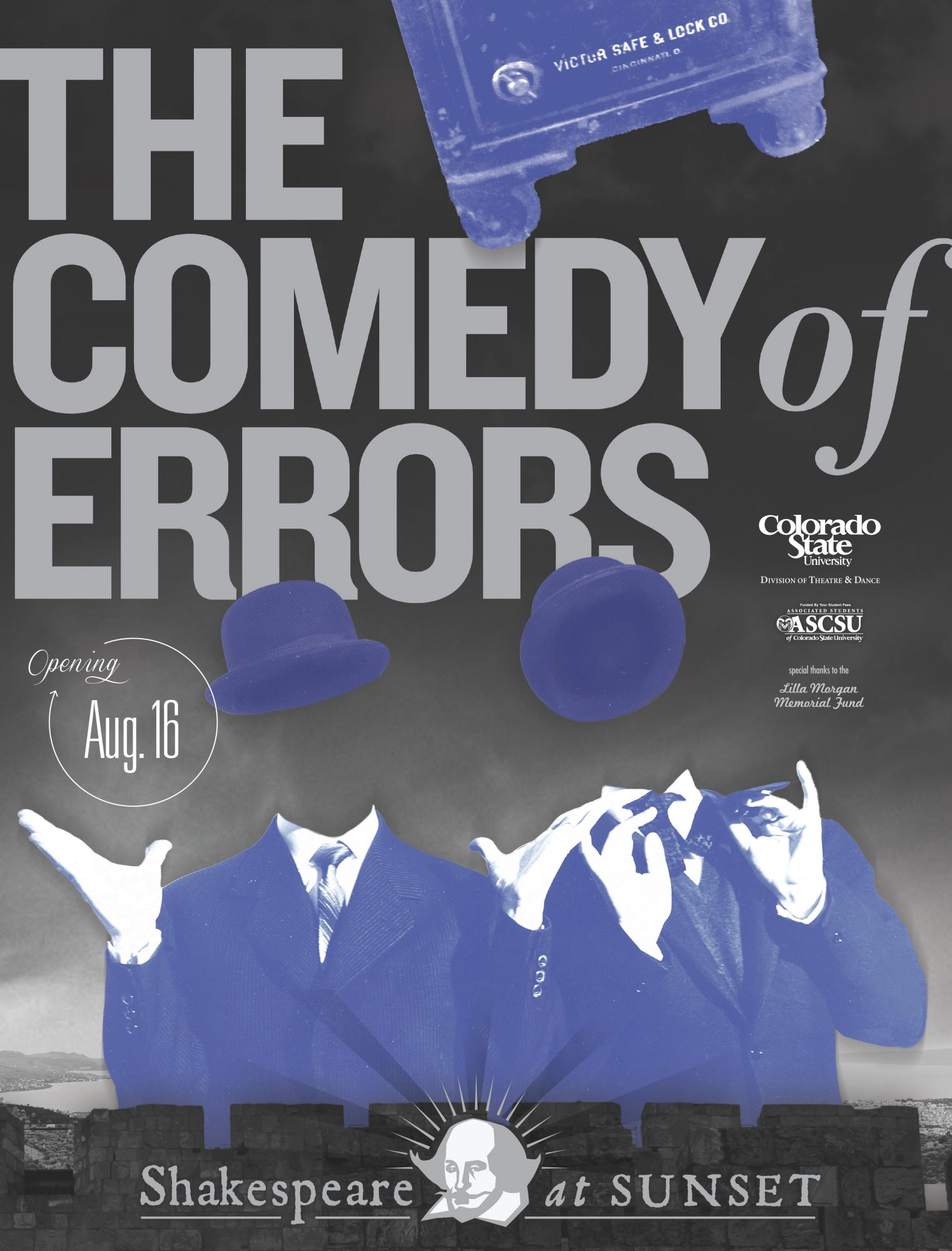 The Comedy of Errors 2015 Promotional Poster