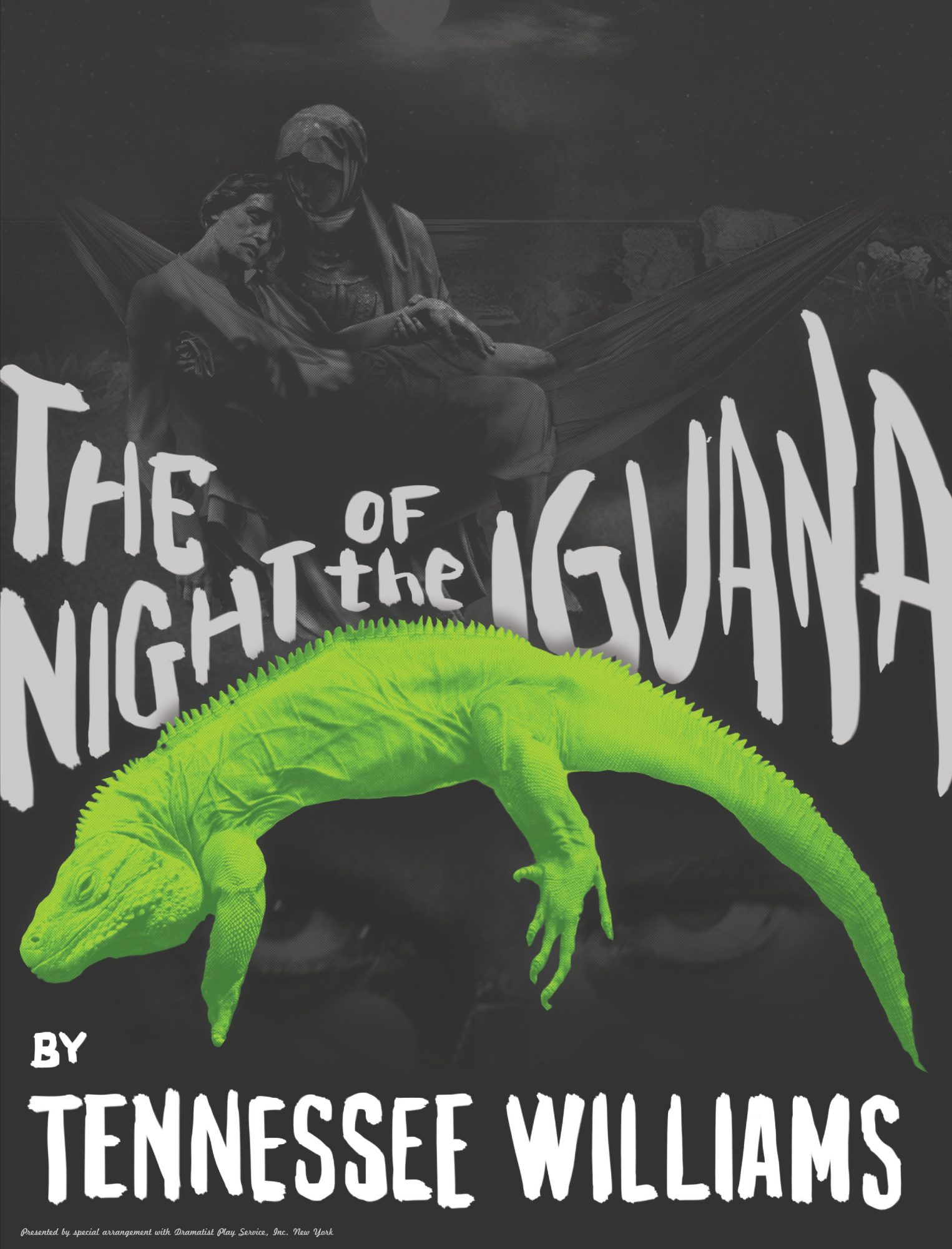 The Night of the Iguana 2015 Promotional Poster