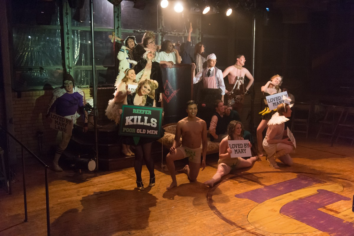 Reefer Madness, The Musical 2016 Production Photo