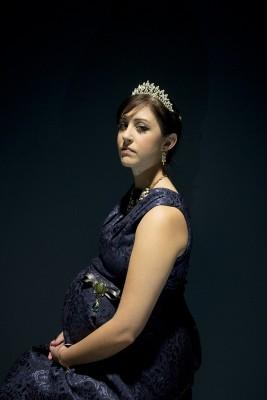 Lauren Scott in CSU Theatre's production of A Winter's Tale