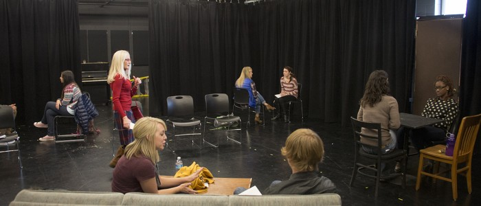 Theatre and Social Work collaboration in the Acting Lab