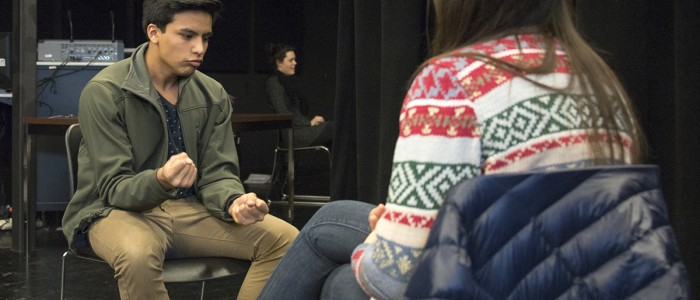 Theatre and Social Work collaboration in the Acting Lab 2016
