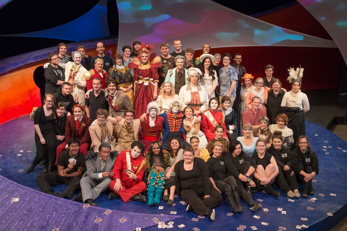 Alice in Wonderland 2014 Production Photo - Entire Cast