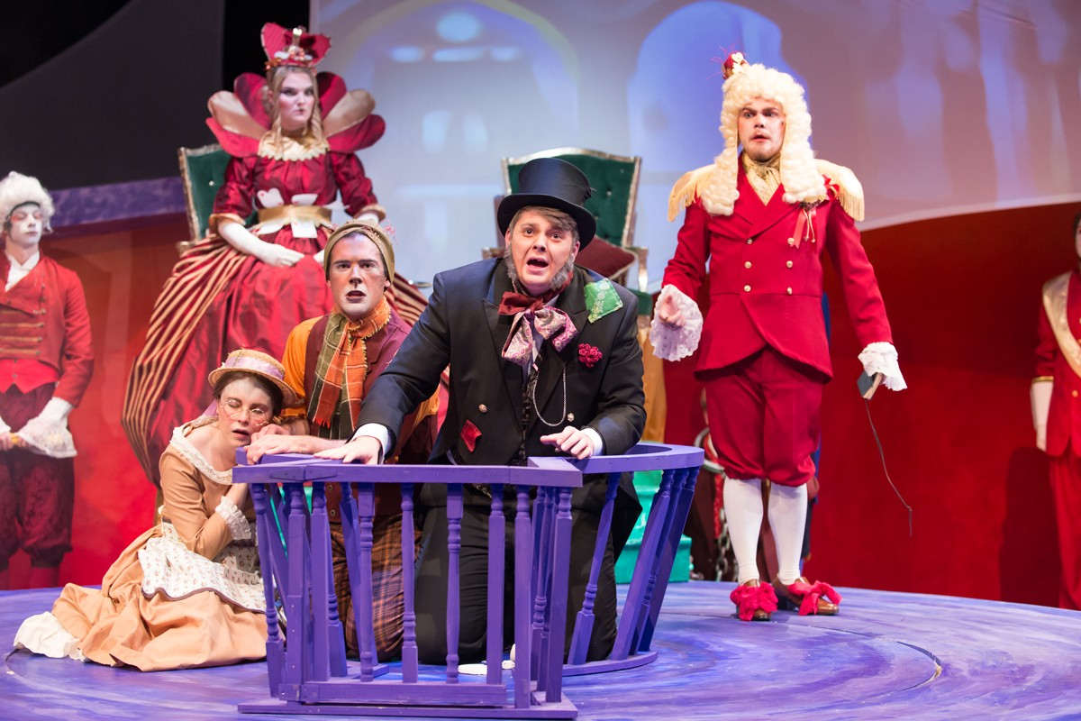 Alice in Wonderland 2014 Production Photo