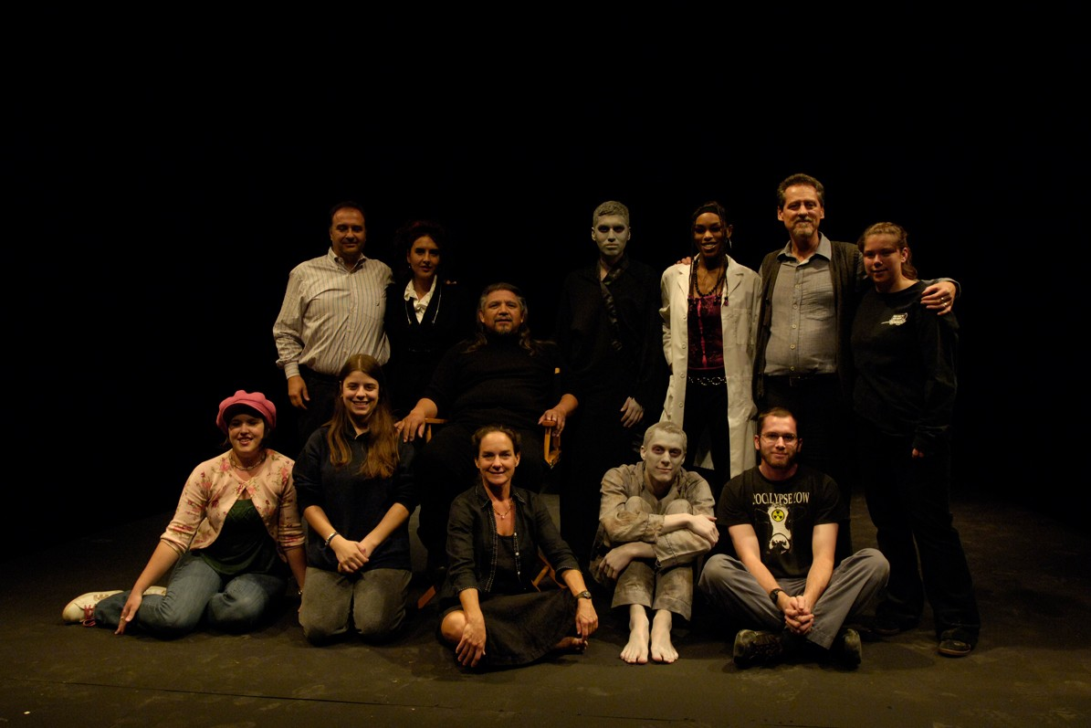 The Beckett Project, Endgame 2011 Production Photo, Entire Cast