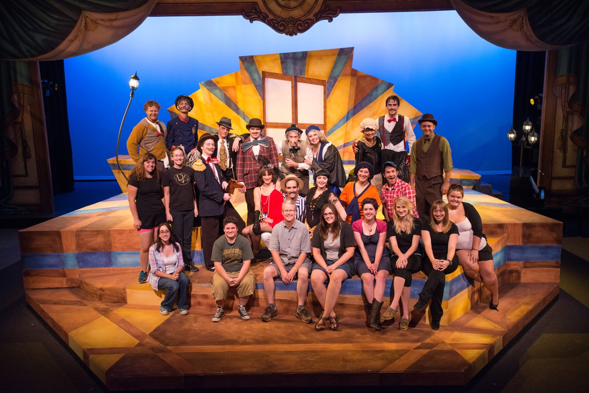 A Comedy of Errors 2012 Production Photo- Entire Cast