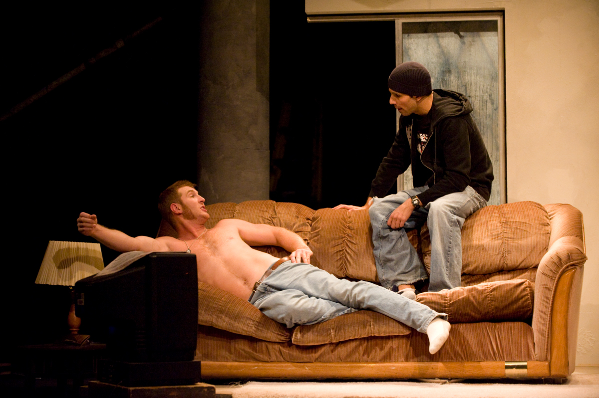 Colorado State University Theatre presents The Distance from Here by Neil LaBute, directed by Walt Jones.