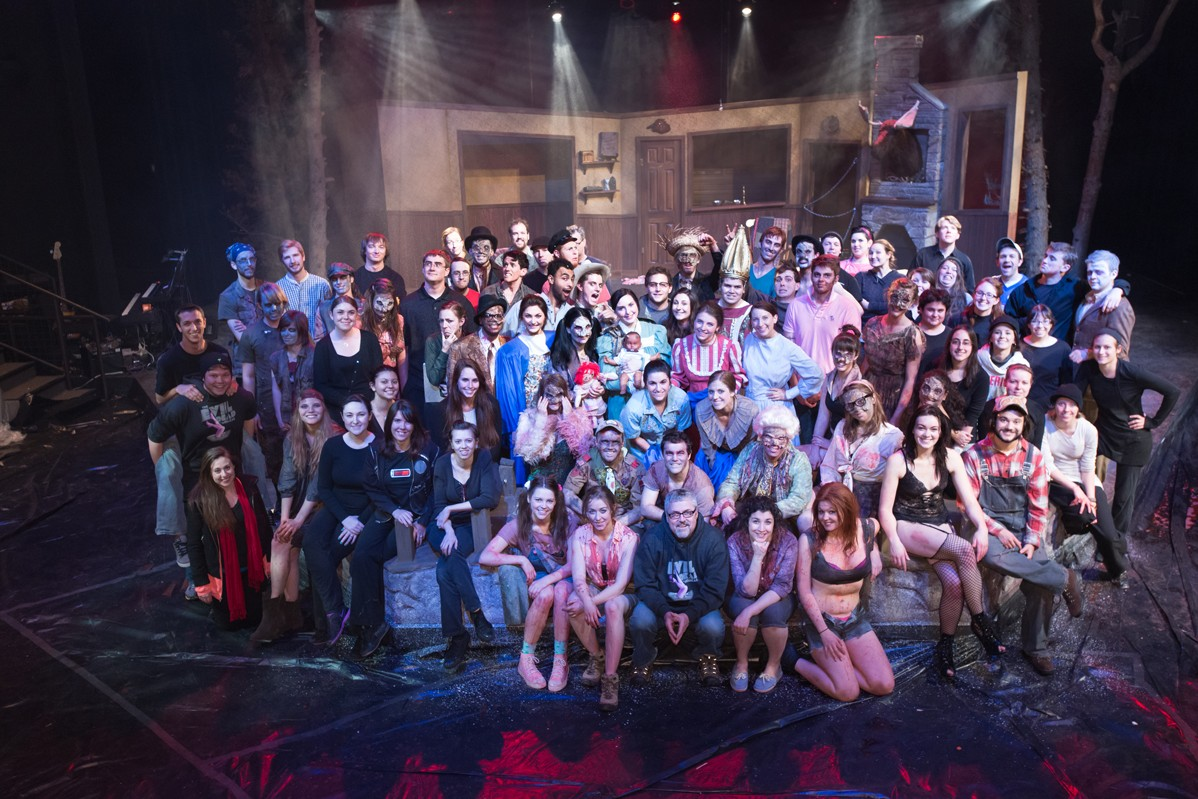 Evil Dead: The Musical 2013 Production Photo - Entire Cast