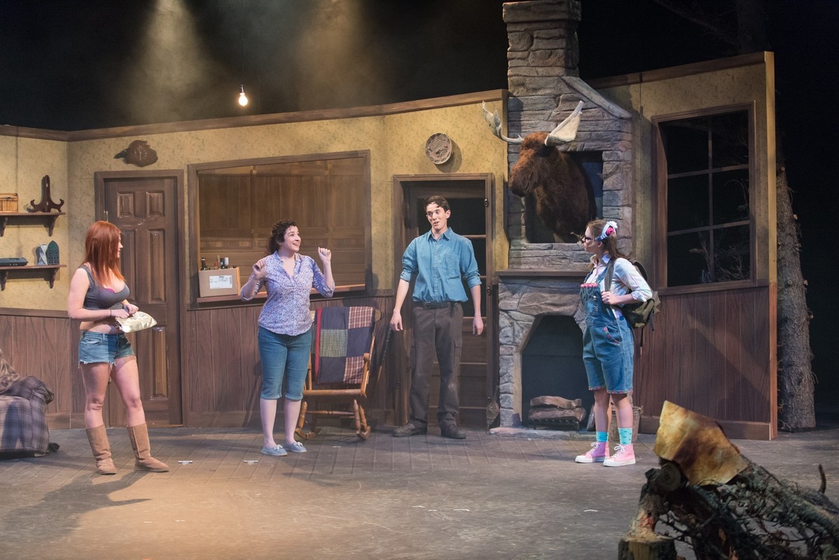 Evil Dead: The Musical 2013 Production Photo