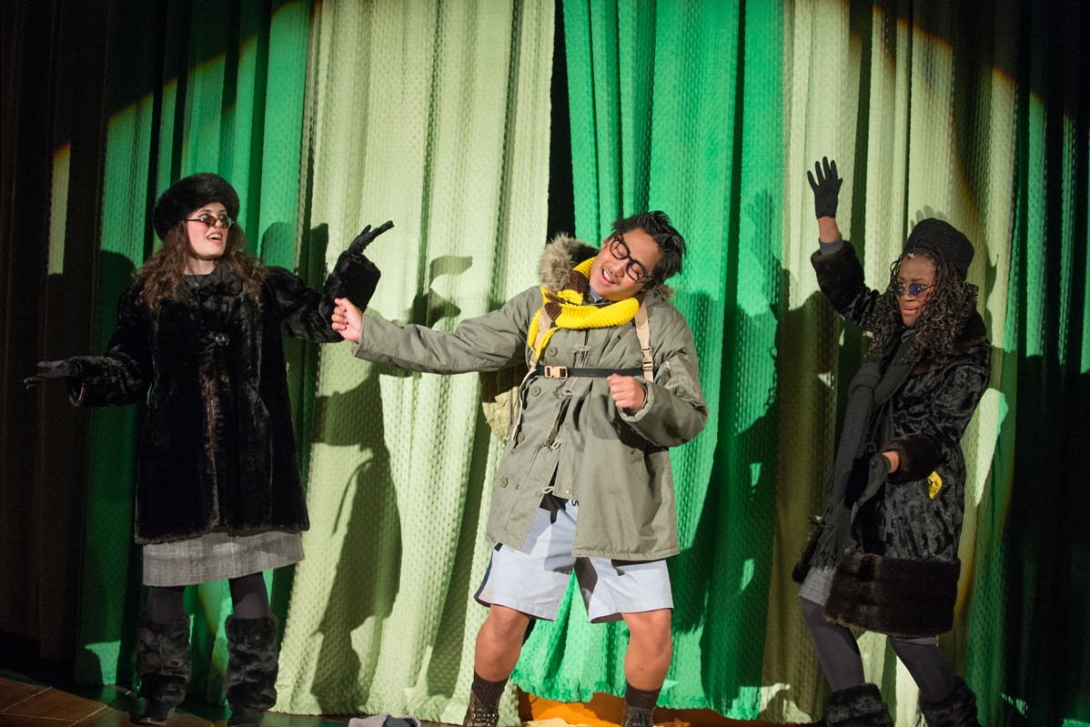 A Year With Frog and Toad 2014 Production Photo