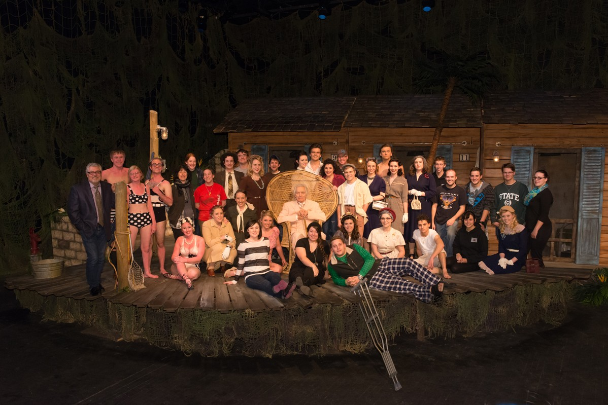 The Night of the Iguana 2014 Production Photo - Entire Cast