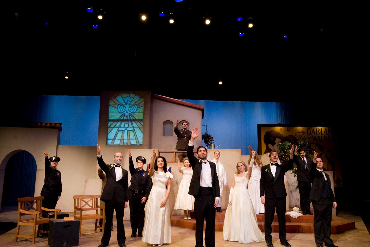 Much Ado About Nothing 2009 Production Photo - Entire Cast