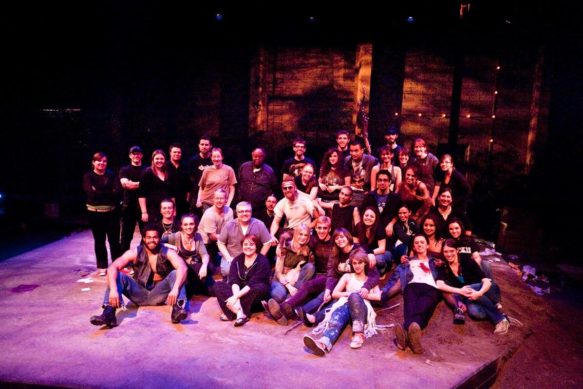 Polaroid Stories 2010 Production Photo - Entire Cast