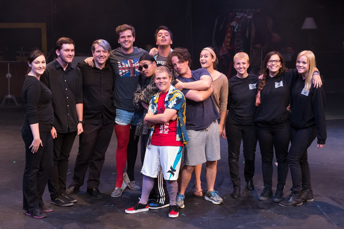 The Complete Works of William Shakespeare Abridged 2014 Production Photo - Entire Cast