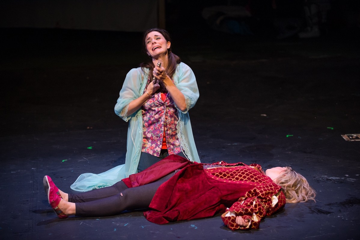 The Complete Works of William Shakespeare Abridged 2014 Production Photo-10