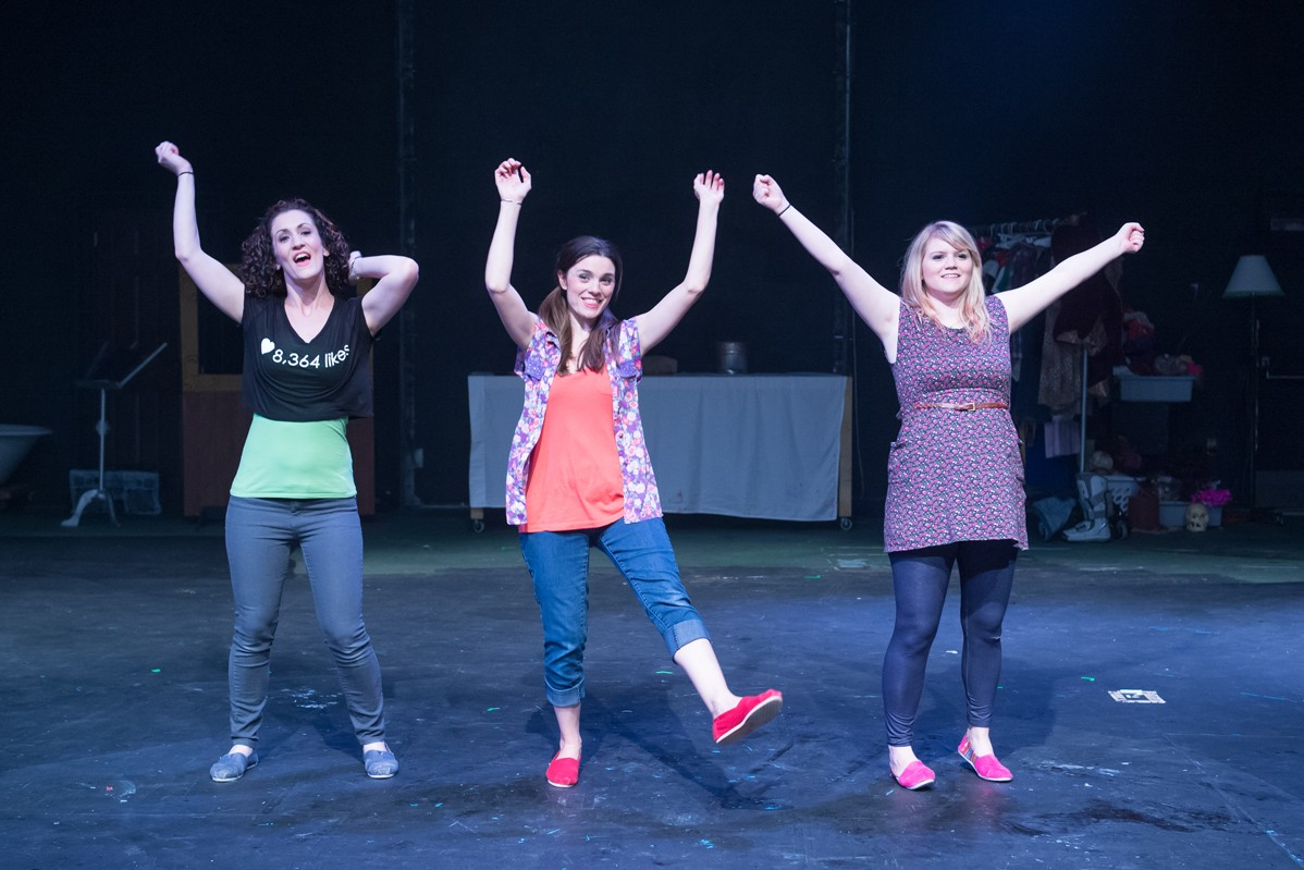 The Complete Works of William Shakespeare Abridged 2014 Production Photo