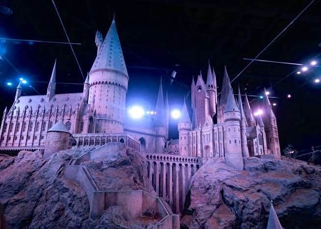 Warner Bros. Harry Potter Studio Tour, Hogwarts