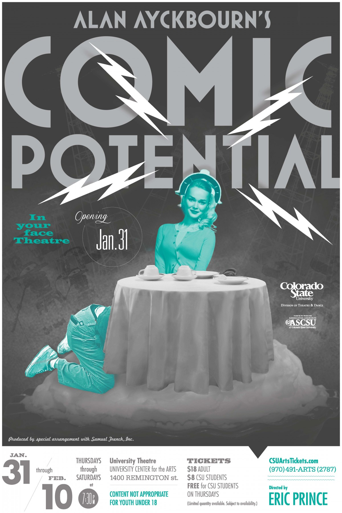 Comic Potential 2013 Promotional Poster