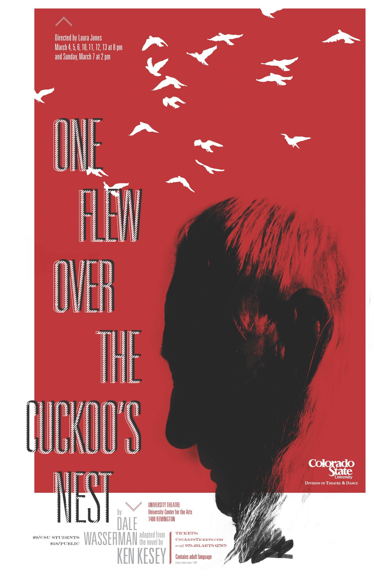 One Flew Over the Cuckoo's Nest 2010 Promotional Poster