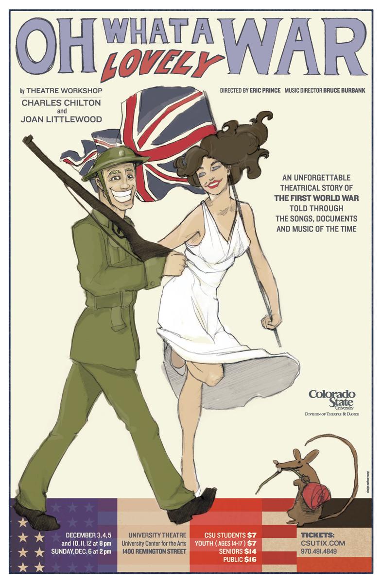 <em>Oh What a Lovely War</em> by Joan Littlewood