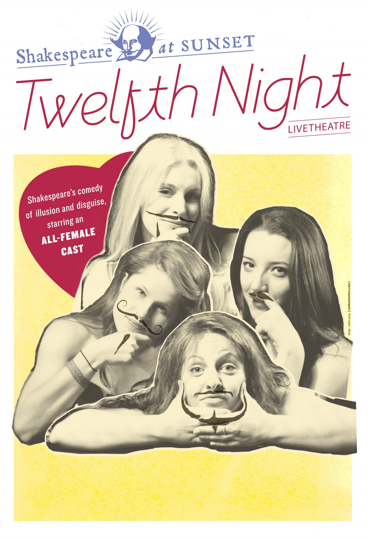 Twelfth Night 2010 Promotional Poster