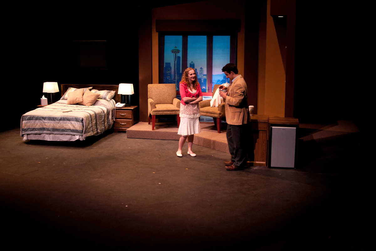 Two Plays, Some Girls 2011 Production Photo