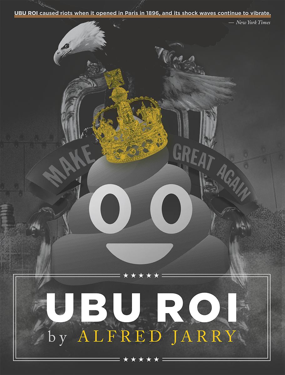 Ubu Roi 2016 Promotional Poster