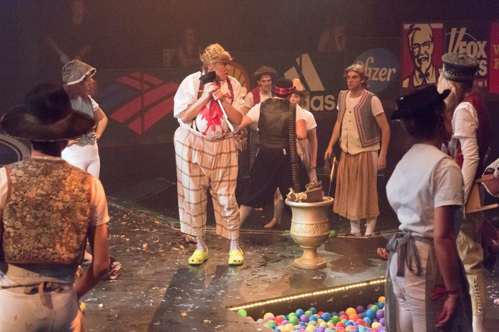 Ubu Roi 2016 Production Photo