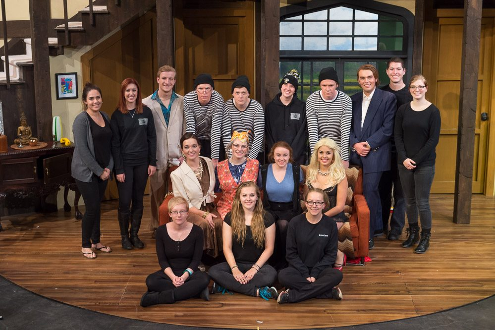 Noises Off 2016 Production Photo - Entire Cast
