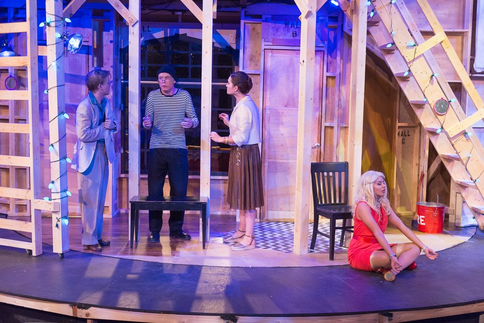 Noises Off 2016 Production Photo