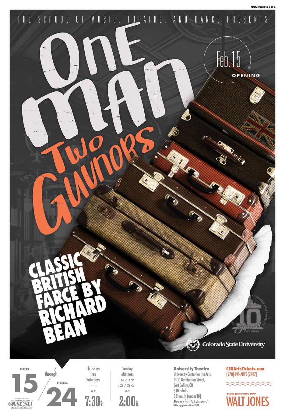 On Man, Two Guvnors promotional poster