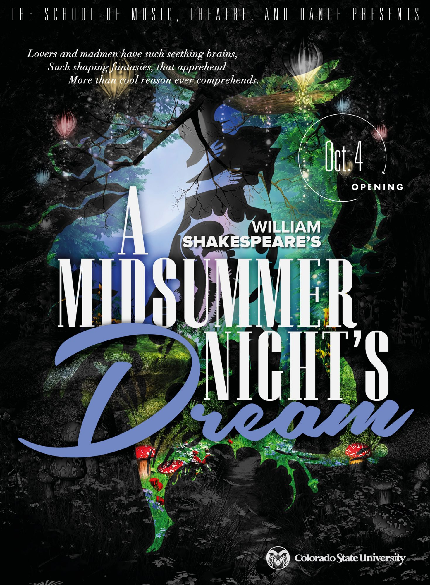 A Midsummer Night's Dream 2020 Promotional Poster