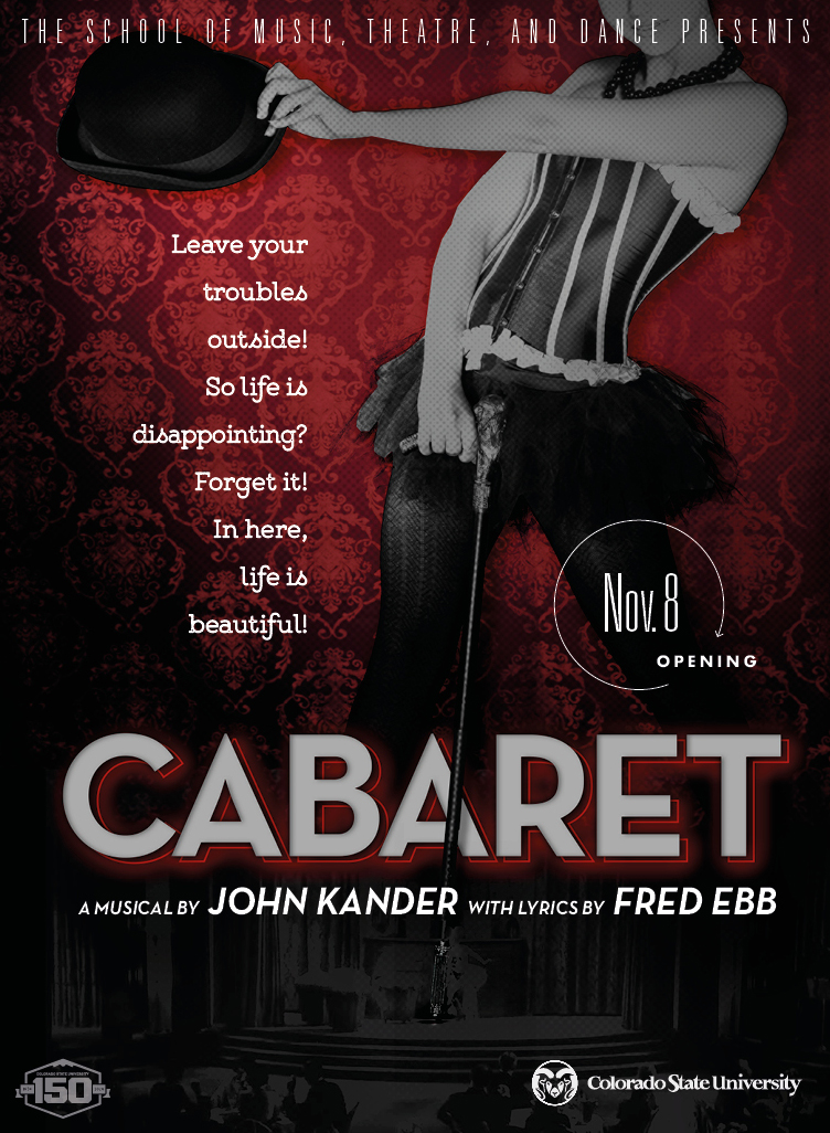 Cabaret promotional poster
