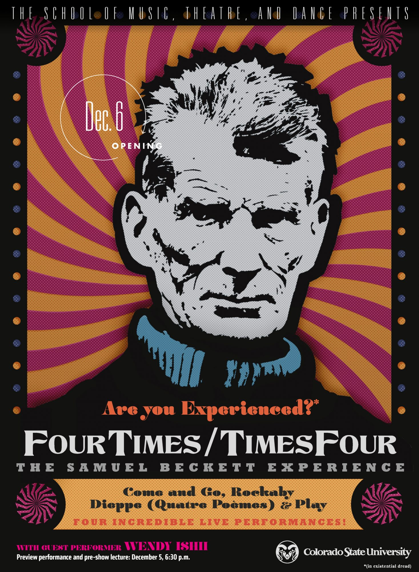 The Beckett Experience: Four Times/Times Four, Directed by Eric Prince