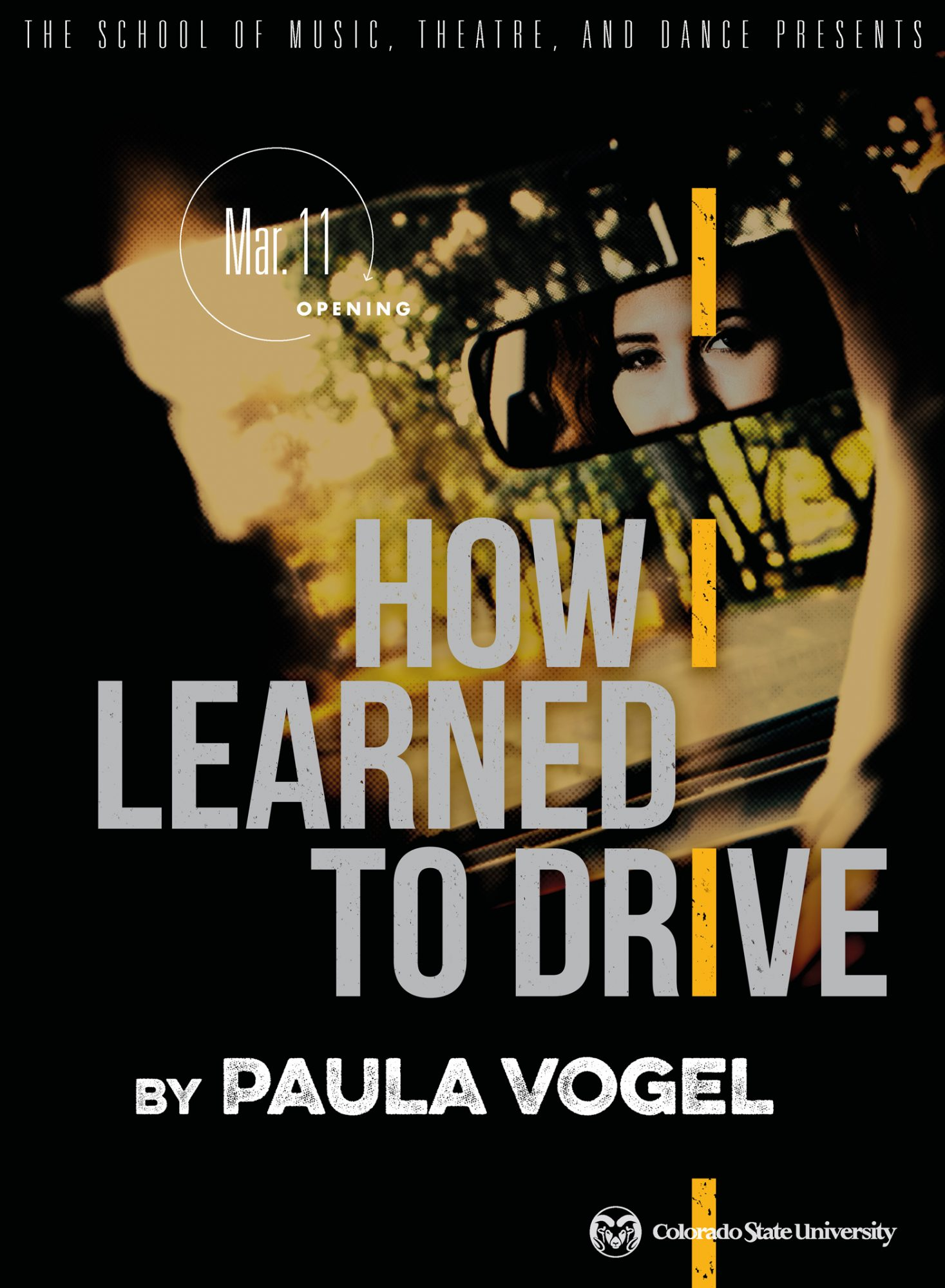 How I Learned to Drive 2020 Promotional Poster