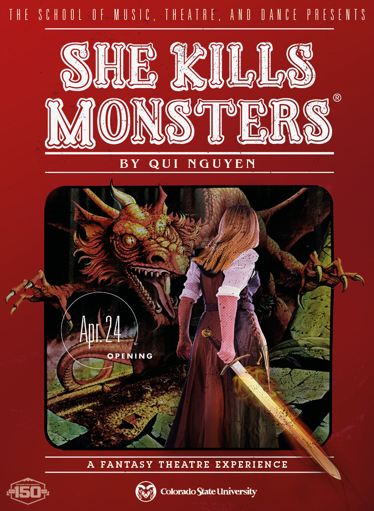 She Kills Monsters 2020 Promotional Poster