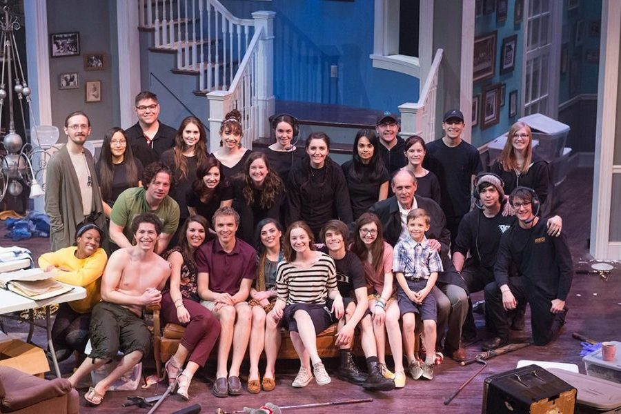 Appropriate production cast and crew group o