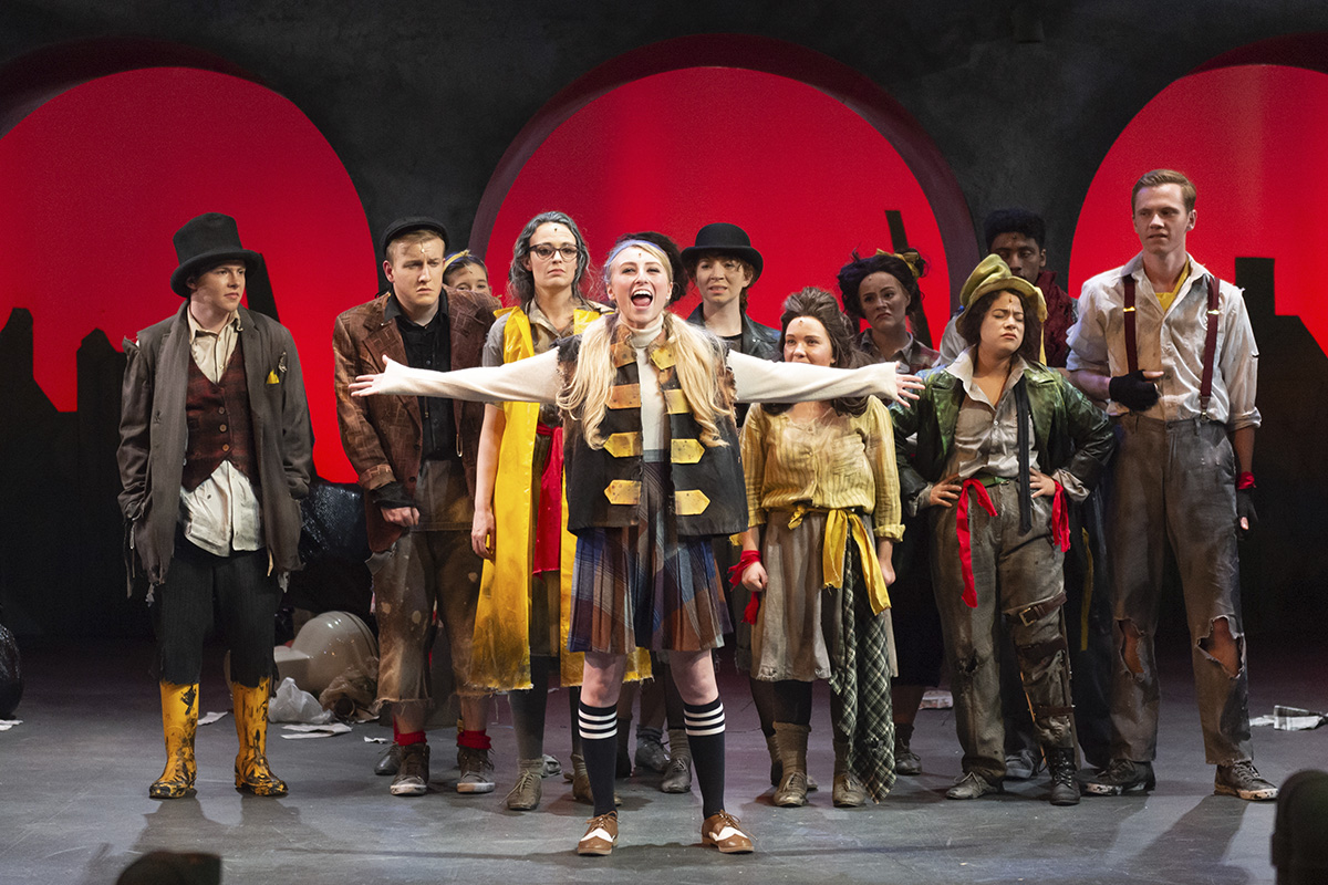 Urinetown the Musical 2018 production photo