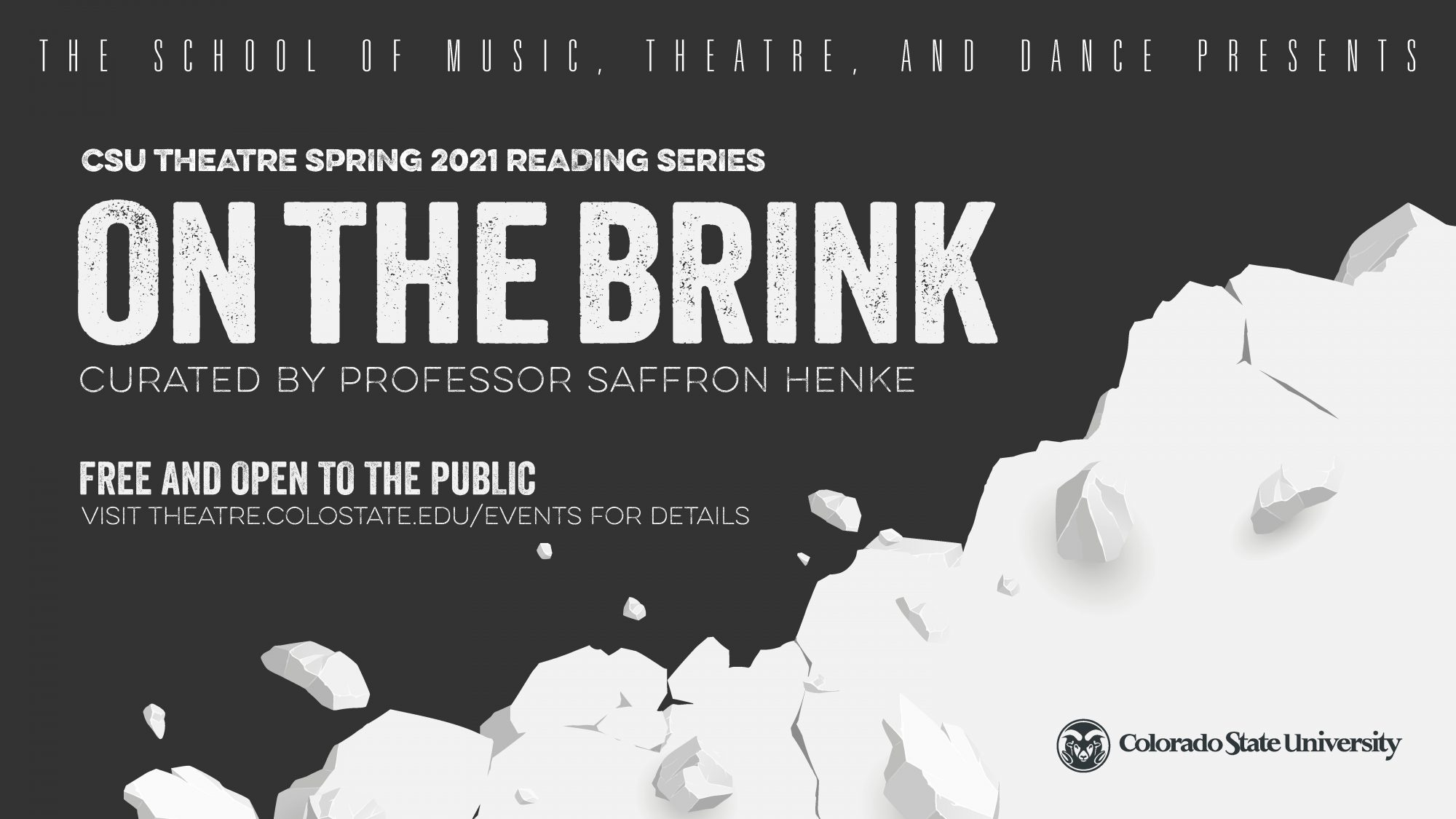 ON THE BRINK Reading Series: <em>The Noah Racey Project</em> by Noah Racey