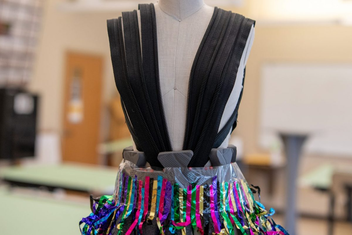 Trashy Design – Student Costume Design Project Pictured
