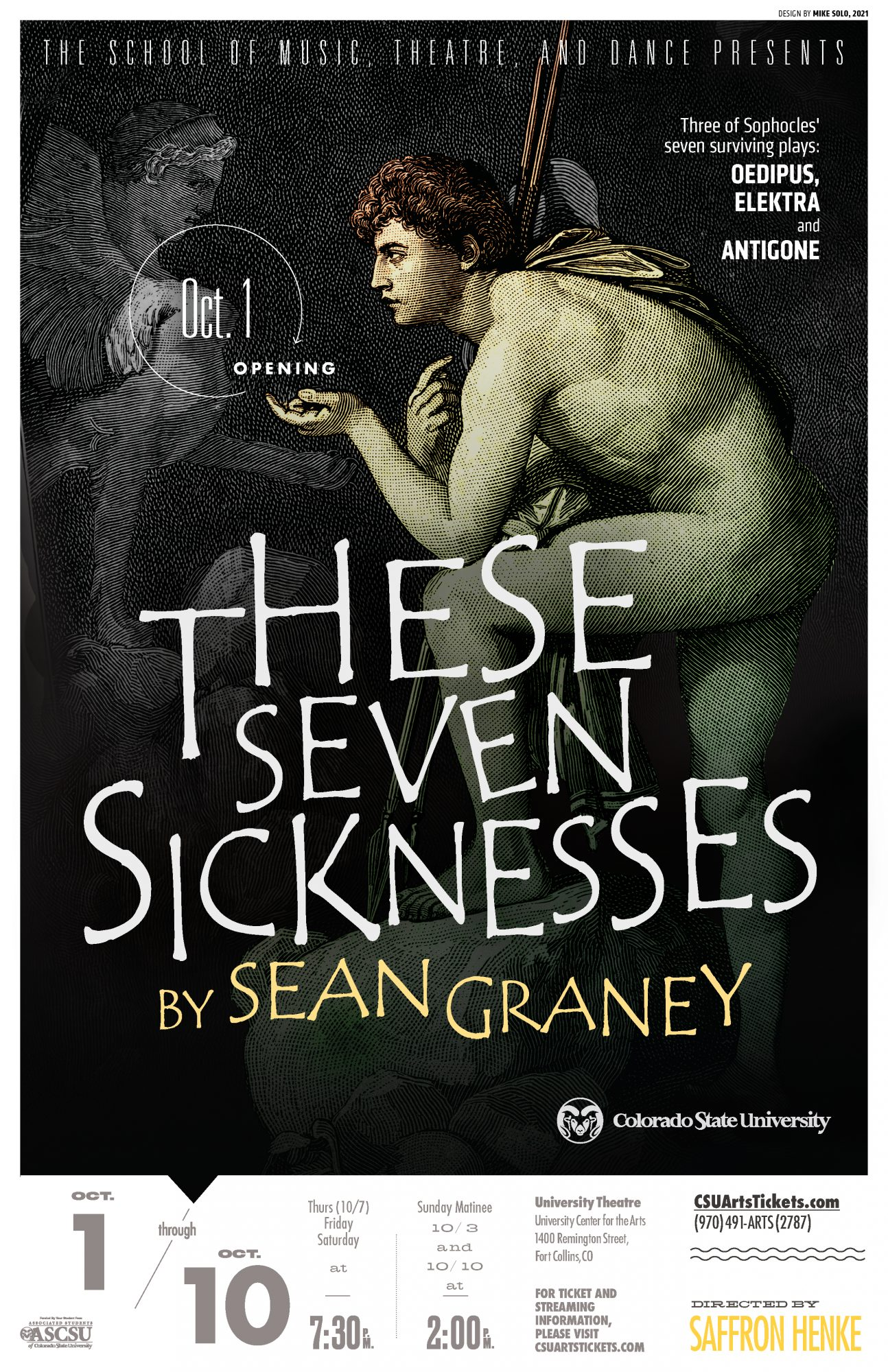 <em>These Seven Sicknesses</em>, adaptations by Sean Graney